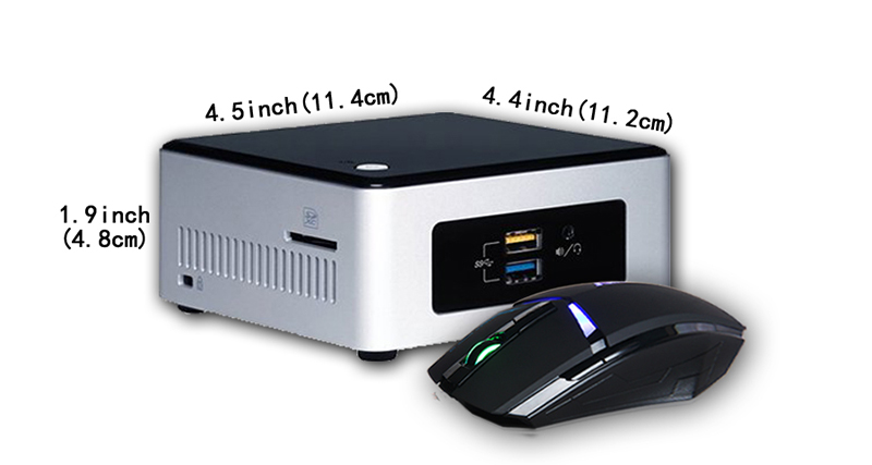 intel nuc cidr how to use remote control